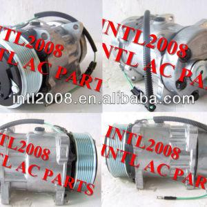 Ar condtiioner( um/c) 709 compressor sanden sd7h15 4866 4450 flx7 flex 7 para caminhões pesados( hd)