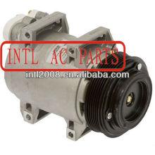 Dks17d ar auto ac compressor volvo c70 s80 s60 xc90 6pk jsd18-17001 jsd1817001 carro um/c compressor 2.3l 2.4l 2.5l 2.8l 2.9l 3.2l