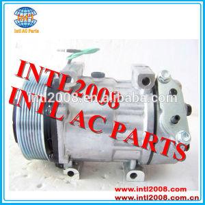 Pv8 24v 7h15 sanden compressor ac para scania caminhões pesados( diesel) 1376998 1412263 10575186 1888034