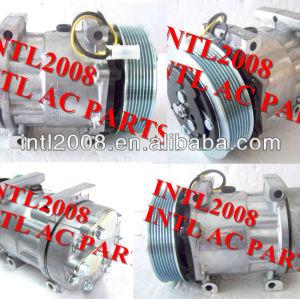 sanden sd7h15 8044 8176 8112 compressor ac para volvo caminhão camion fh07 fh12 fm9 fm12 nh12 20538307 85000315 20538307 8191892