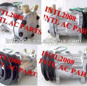 Sd7h15 1a sanden 7h15 8034 7887 s8034 um/c condicionador de ar compressor para isuzu volvo scania nissan ud esterlina caminhões iveco