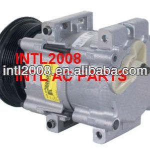 Fs10 ar condicionado compressor ac para ford pv6 13 byu- 19d629- aa 4f2h- 19497- aa 95nw- 19d629- ab 97gw-19497-ba
