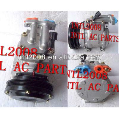 Denso 10pa15c carro compressor ac para daewoo solar escavadora v auto ar condicionado um/c compresor 2208-6013a 22086013a