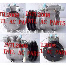 carro compressor ac para denso 10pa15c ar condicionado auto condicionador de ar compresor bb 2pk com polia embreagem