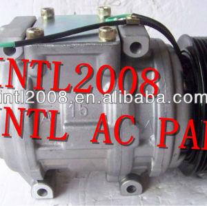 Denso 10pa15c carro compressor ac para mercedes actros 3354 trator auto ar condicionado um/c compresor com 8pk embreagem