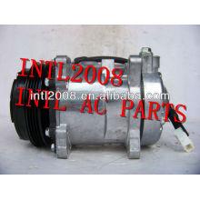 sanden 507 5h11 ar condicionado compressor com a embreagem pv4 para peugeot sd507 sd5h11