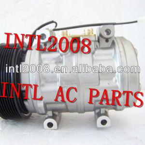 Denso 10p15 ar condicionado compressor ac para ford 250/350/4000 para john deere com cluth pv8