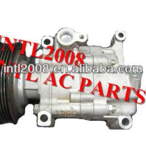 Matsushita ac compressor de ar condicionado para mazda verisa 2006 mazda 2 1.3l/1.5edc d570-61-k00a d570-61-k00b