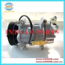 Sd6v12 1439 compressor de ar para a peugeot 206 307 bipper parceiro/citroen 6453jl 6453ln 6453lf 6453jp 9646273880 6453ls 6453ks