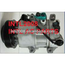 Dve16 ar condicionado compressor ac para hyundai tucson 1d27e- 01600 of182-0174 oe111-0184