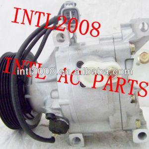 Denso scsa06c 447100-1962 88310-a580 4471001962 88310a580 para toyota carolla ac auto compressor do ar condicionado