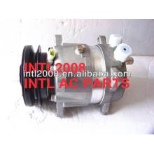 alta qualidade universal v5 comp auto ar condicionado compressor com conexão rotalock
