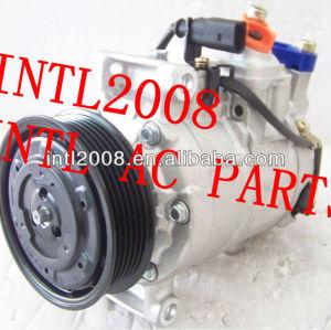 6seu14c denso air compressor ac para audi a3 a4 a5 a8 q5 4f0260805n 447180-7720 447180-9500 147100-5580 8e0260805ba 8k0260805