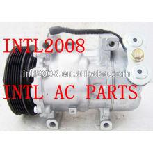 Sanden 6v12 sd6v12 auto ac um/c compressor citroen xsara peugeot 206 6pk 6453en 6453jh 9635587780 1421 ar condicionado kompressor