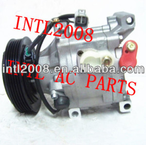 Denso scsa06c compressor de ar condicionado para toyota yaris 88310- 0d180 88310-52421 88310-52400 447260-7350 447180-8841