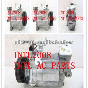 Dkv-10r compressor de ar condicionado para subaru forester 09 73111-sa010 73111sa010 506021-7572 5060217572