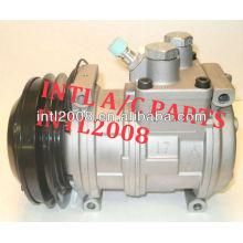 10pa17c compressor de ar condicionado para trator john deere re 46657 se501463 se501471 se501480 ty6765