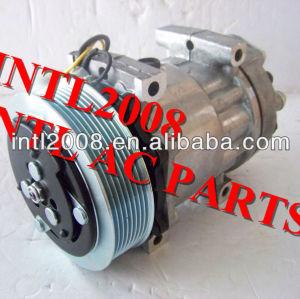 Sd7h15 6028 8044 um/compressor ac para o caminhão volvo fh07 fh12 fm 7, fm 9, fm12, nh12/renault scania 20538307 8113628 8191892 85000315