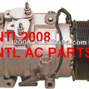Denso 10s17c ar condicionado compressor ac para landcruser toyota hilux hiace 88320-35730 88310- 2f020 88320- 6a081