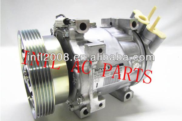Sanden 7V16 ar condicionado AC compressor para Renault Kangoo Renault Clio II Dacia Logan 8200117767 8200603434 Sanden 1177