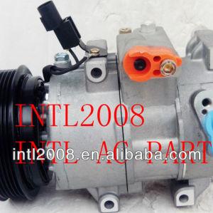 Doowon 6sbu16 auto compressor da ca serato kia cerato spectra dv16 hyundai veloster 97701- 2f031 97701- 2v000 977012f031 97701- 2f800
