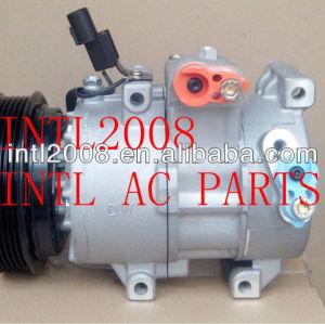 Doowon 6sbu16 compressor ar condicionado carro hyundai veloster accent kia cerato spectra 1.6 976431j100 977012v000 97701- 2f900 1127031500