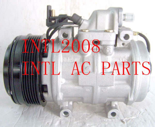 Denso 10p15c auto um/c ac compressor mercedes w124 w140 w126 w201 eletrônico- classe s- classe a0002302411 0031316601 2471005910 147100-0750