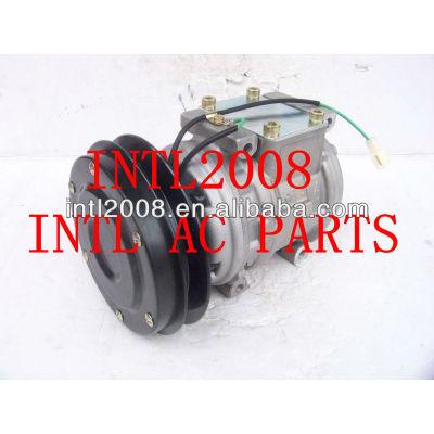 Um 10pa15c/c ac compressor para a komatsu pá carregadeira komatsu kubota john deere hitachi 447200-1741 447200-0246 0k24261k00a