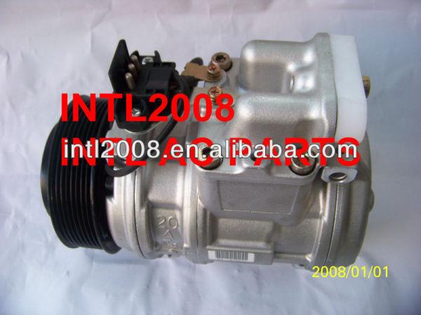 Denso 10pa20c ac compressor do condicionador de ar para mercedes- benz w140 91-98 a0002300411 1191300150 a0002340011 a0002300311