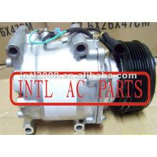 sanden trs090 ac bomba de ar condicionado compressor para dodge stratus chrysler sebring 4596367aa 4595666 4596135 5264740