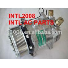 universal 5h14 sanden compressor 508 sd5h14 sd508 6656 condicionador de ar do compressor com a embreagem pv8