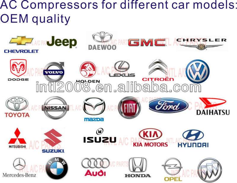 Zexel Aircon ac compressor for Holden Jackaroo monterey Isuzu Rodeo Trooper Honda 506021-4281 8972876412 8973021760 8972876410