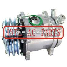 ac universal de ar condicionado compressor sanden 508 5h14 8399 sd508 sd5h14 com embreagem pv2 sanden 8399
