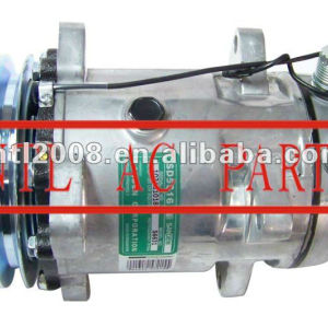 Ac universal um/c compressor sanden 510 5h16 sd5h16 sd510 5756 ar compressor com a embreagem pv2 ac kompressor para uso universal