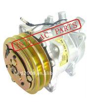 Universal sanden 505 5h09 sd505 sd5h09 compressor ar condicionado w/embreagem pv2 sanden 9056