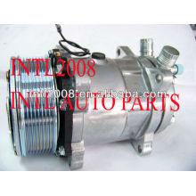 Condicionador de ar universal um/c compressor sanden 508 5h14 sd5h14 sd508 12v 8pk polia brand new con air bomba