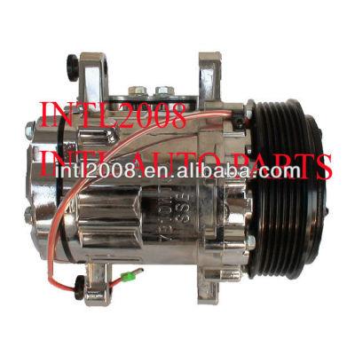 Condicionador de ar a/c compressor sanden 7b10 sd7b10 12v 6pk para opel, volkswagen novo con air bomba