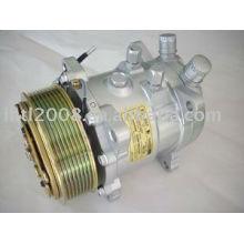 Universal SD507 Sanden 507 5H11 SD5H11 5125 Compressor de ar condicionado com embreagem PV8
