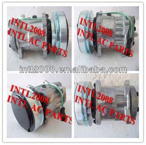 ac compressor sanden 7h15 sd7h15 ar compressor com a embreagem ac kompressor para caterpillar 4640 8066 4479 u4640 u4479