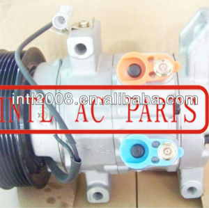 10s11c compressor ac, auto ar condicionado 447260-8040 88310- 0k122 88320-0 para toyota hilux 04-10