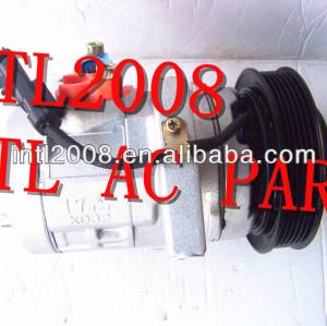Denso 10s17c compressor para ar condicionado 300 chrysler dodge charger magnum 55111034aa 4596490ac 447220-5551 rl111034ab
