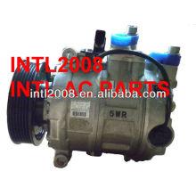 denso 7seu17c compressor de ar condicionado para audi a4 4h0260805 4h0260805a 8e0260805bm 4471903640 4471904960 4471906390