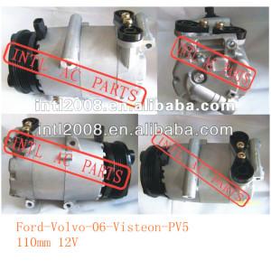 Visteon compressor de ar condicionado para ford focus ford focus volvo c30 s40 v503m5h-19497-aa 3m5h- 19497- ac 3m5h- 19d629- mg