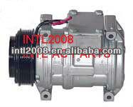 Denso 10pa20c compressor ar condicionado w/pv6 embreagem para chevrolet corvette 5.7
