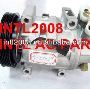 Calsonic cwv618 ac compressor de ar condicionado para infiniti 130 nissan maxima 99-01 92600- 2y01a 92600- 2y000 92600- 2y001 25187502