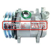 Universal AC Compressor SD507 Sanden 507 5H11 5H11 Compressor de ar com embreagem PV2 AC Kompressor para uso Universal