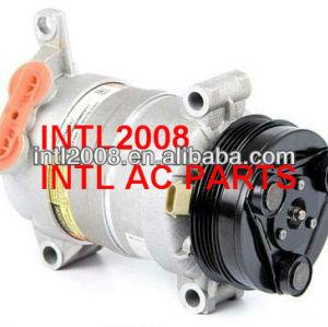 Hu6 compressor com 4pk, ar condicionado 89018952 19169352 19130063 15-10421 para chevrolet pick- up caminhão chevrolet silverado