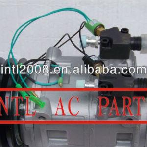 Dks32 compressor ac com 2pk 24v, ar condicionado para dks32 tm31 ônibus