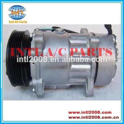 7v16 sanden compressor ac, auto ar condicionado 9613260680 9640486480 1106 para citroen xantia peugeot 306 406 806 peugeot expert