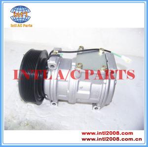 10pa17c compressor de ar condicionado para carregadeiras john deere at172975 at226273 at168543 447180-5480 447200-3669 447220-7270
